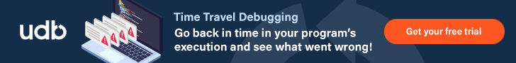 Find out more about UDB Time Travel Debugger for C/C++ on Linux